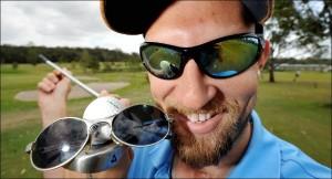 The Blind Golfer