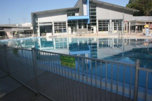 pool fence hire